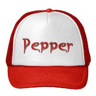 Pepper gift trucker hat