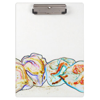 pepper group artsy outline hot pepper food design clipboard