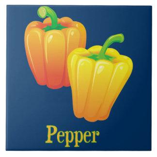 Pepper Kitchen Decorative Tile