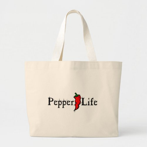 Pepper Life Large Tote Bag