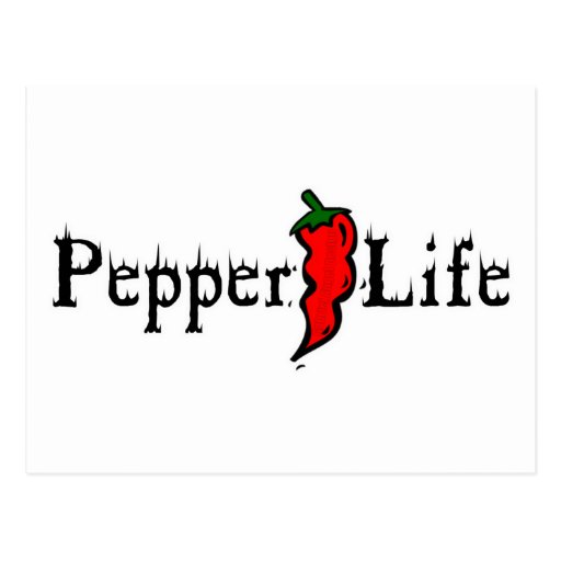Pepper Life Post Cards
