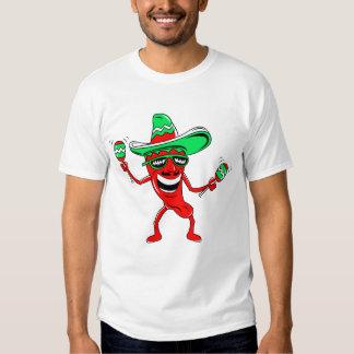 Pepper maracas sombrero sunglasses.png t-shirts