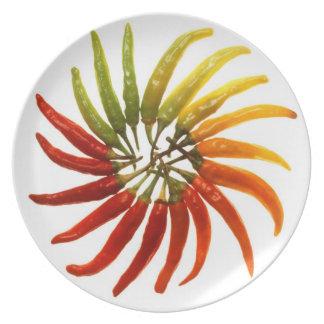pepper melamine plate