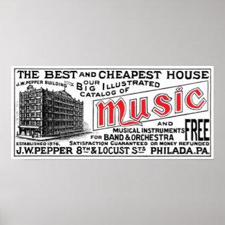 Pepper Music Co. Poster