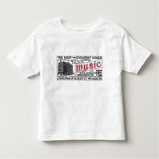 Pepper Music Co. Toddler light short sleeve Tee
