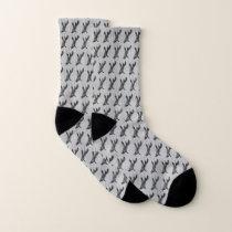 Pepper Patterned Socks