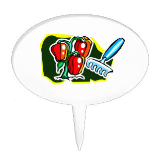 Pepper plant with rake graphic.png cake topper