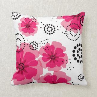 Pepper Poppies | fuschia Pillows