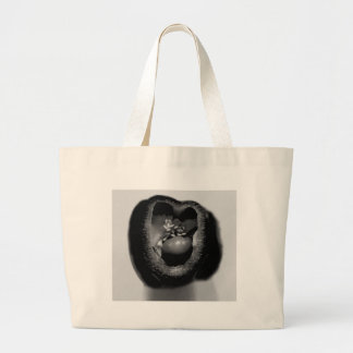 Pepper reproduction large tote bag