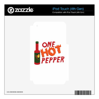 Pepper Sauce Skins For iPod Touch 4G
