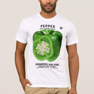 Pepper Seed Packet Label T-Shirt
