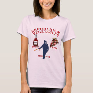 Pepper Spray, Pizza and Ketchup T-Shirt