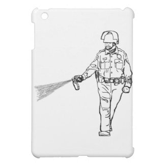 Pepper Spraying Cop Cover For The iPad Mini