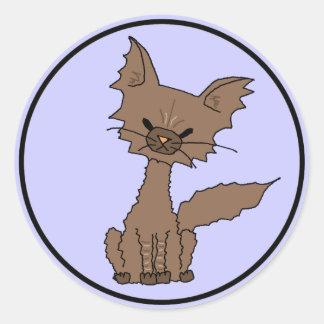 Pepper the Cat Sticker (Meet the Mews)