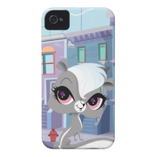Pepper the Sassy Skunk iPhone 4 Case
