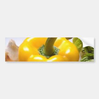 Pepper Tomatoes Vegetables Lettuce Healthy  Food Bumper Sticker