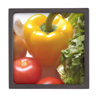 Pepper Tomatoes Vegetables Lettuce Healthy  Food Gift Box