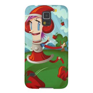Pepper Weird Case For Galaxy S5