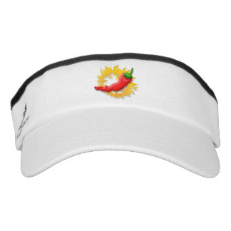 Pepper with flame visor