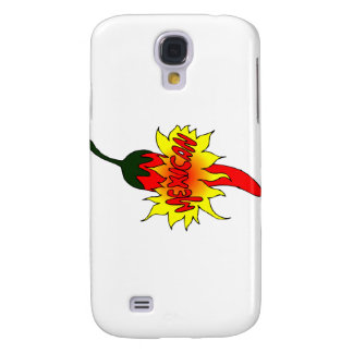 Pepper with text mexican graphic samsung galaxy s4 cover