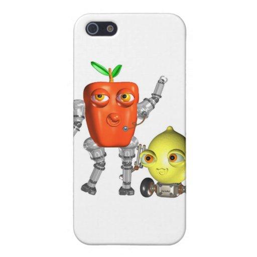 PepperBot y LemonBot FUDEBots por Valxart iPhone 5 Protector