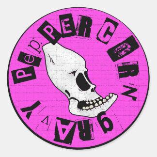Peppercorn Gravy - Logo Classic Round Sticker