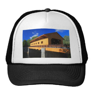 Pepperell MA New Covered Bridge Trucker Hat
