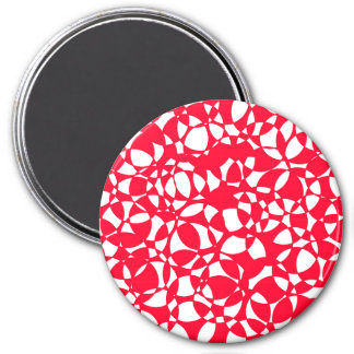 PEPPERMINT ABSTRACT MAGNET