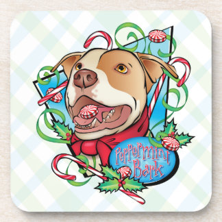 Peppermint Bark Drink Coasters