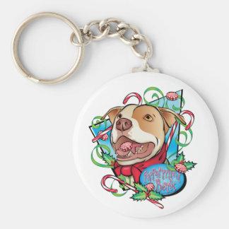 Peppermint Bark Key Chains