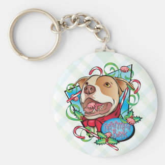 Peppermint Bark Keychains