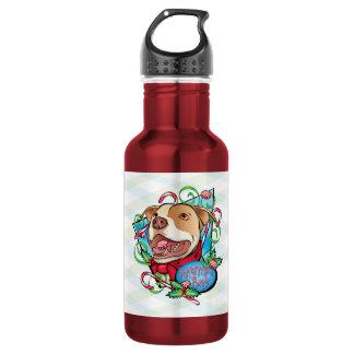Peppermint Bark Liberty Bottle 18oz Water Bottle