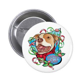 Peppermint Bark Pinback Button