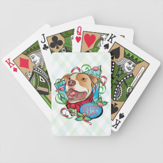 Peppermint Bark Playing Cards