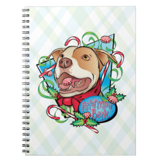 Peppermint Bark Spiral Note Book
