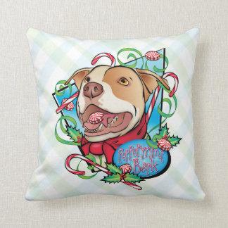 Peppermint Bark Throw Pillows