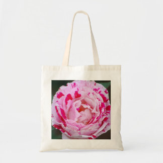 Peppermint Camellia Tote Bag