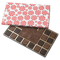 Peppermint Candies 45 Piece Assorted Chocolate Box