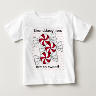 Peppermint Candies Baby T-Shirt