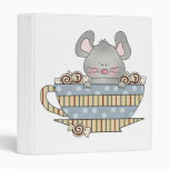 peppermint candies christmas mouse cup binder