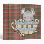 peppermint candies christmas mouse cup vinyl binders