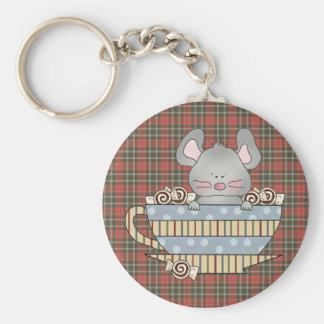 peppermint candies christmas mouse cup basic round button keychain