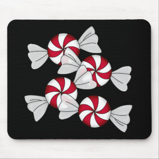 Peppermint Candies Mouse Pad