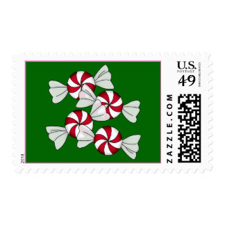 Peppermint Candies Postage