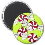 Peppermint Candies Refrigerator Magnets