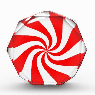 Peppermint Candy Acrylic Award