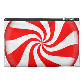 Peppermint Candy Travel Accessory Bags