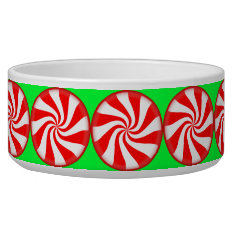 Peppermint Candy Bowl at Zazzle