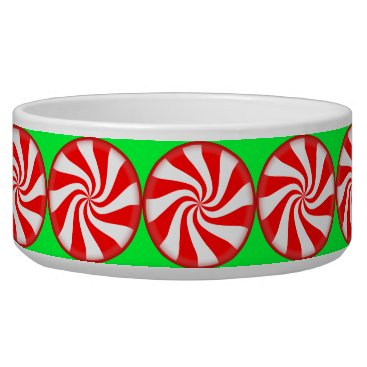 Christmas Themed Peppermint Candy Bowl