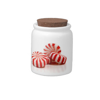 Peppermint Candy Candy Jars